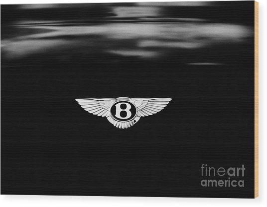 Bentley Continental Gt  Wood Print