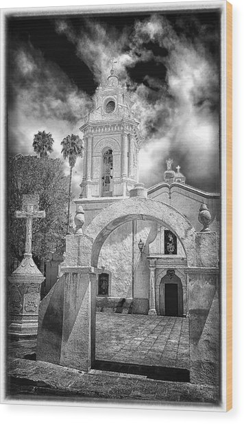 Bernal Church Wood Print