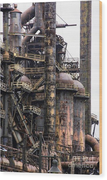 Bethlehem Steel Series Wood Print