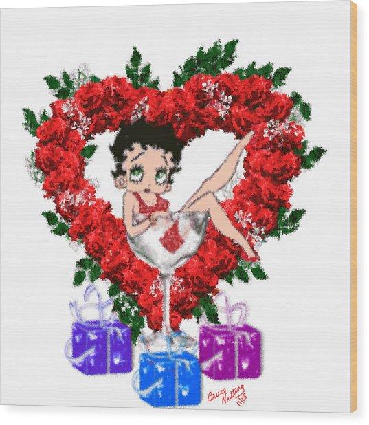 Betty Boop 4 Wood Print