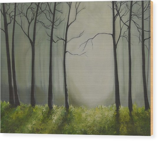Beyond The Light Wood Print
