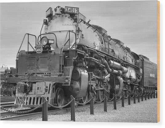 Biggest Badest Steam Locomotive Ever Wood Print