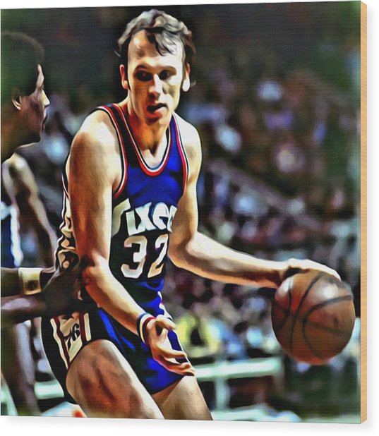 Billy Cunningham Wood Print