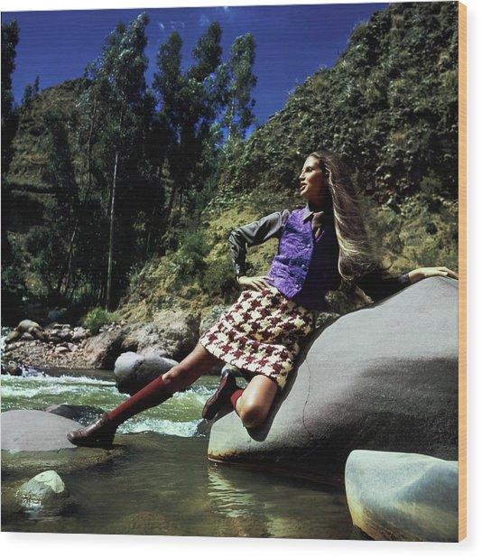 Birgitta Af Klercker In Peru Wood Print