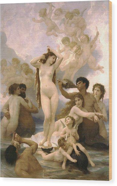 Birth Of Venus Wood Print