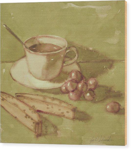 Biscotti Wood Print