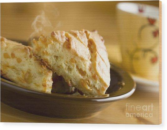 Biscuits Wood Print