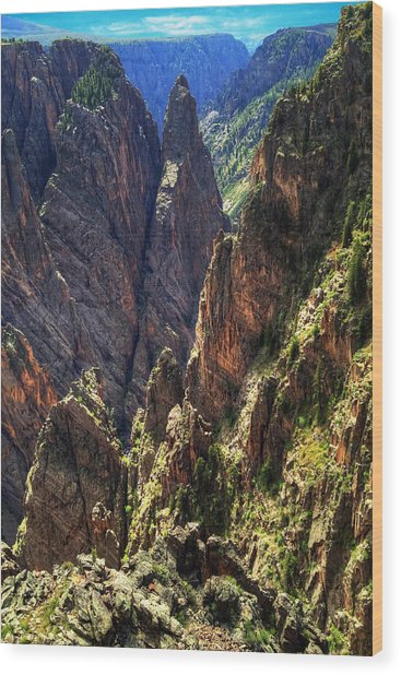 Black Canyon Of The Gunnison National Park I Wood Print