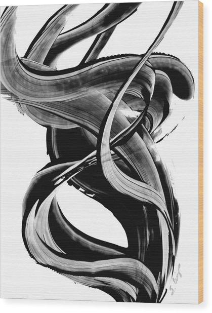 Black Magic 314 By Sharon Cummings Wood Print