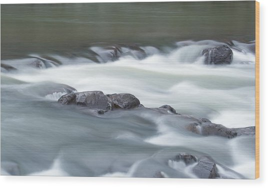 Black River Wood Print