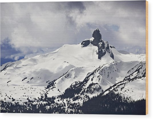 Black Tusk Peak Wood Print