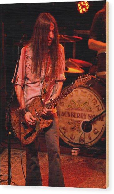 Blackberry Smoke Guitarist Charlie Starr Wood Print