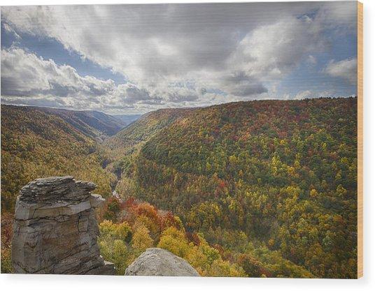 Blackwater Canyon Wood Print