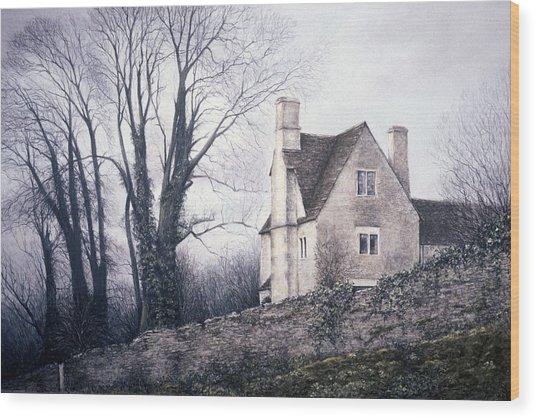Bleak House Wood Print