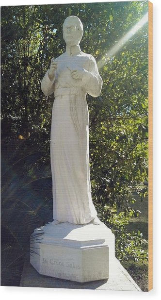 Blessed Francis Xavier Seelos C.ss.r. - New Orleans La  Wood Print