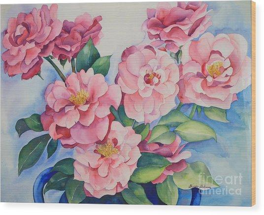 Blooming Grace Wood Print