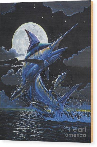 Blue Moon Off0069 Wood Print