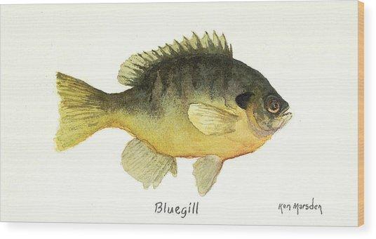 Bluegill Wood Print