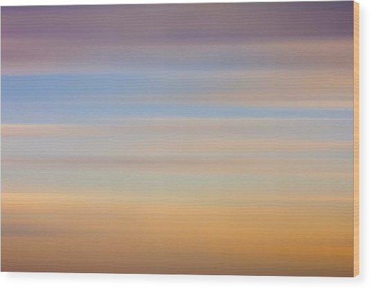 Blurred Sky 8 Wood Print