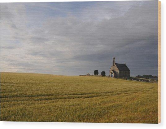 Boarhills Church Wood Print