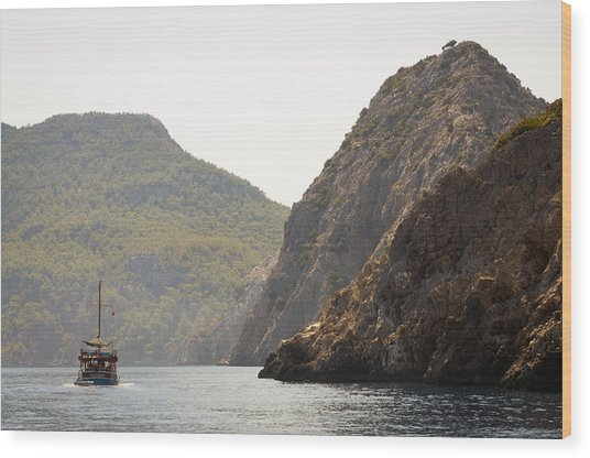 Boat Trip Wood Print