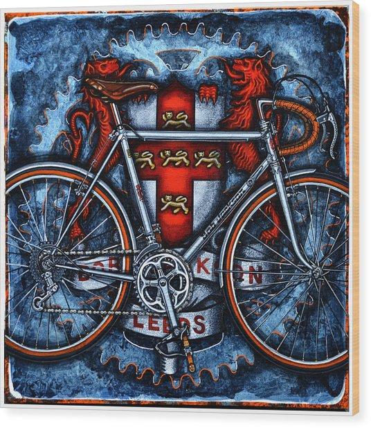 Bob Jackson Wood Print