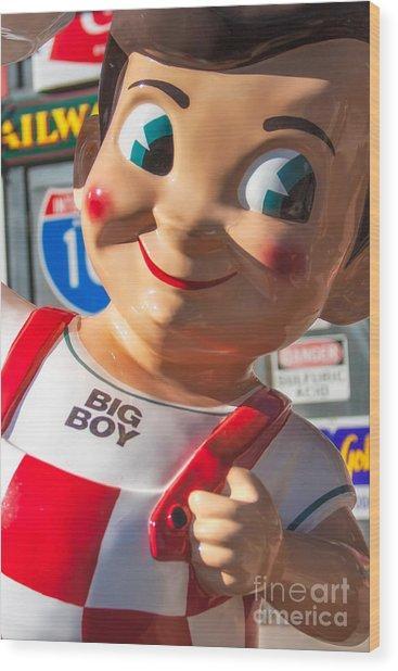 Bob's Big Boy Wood Print