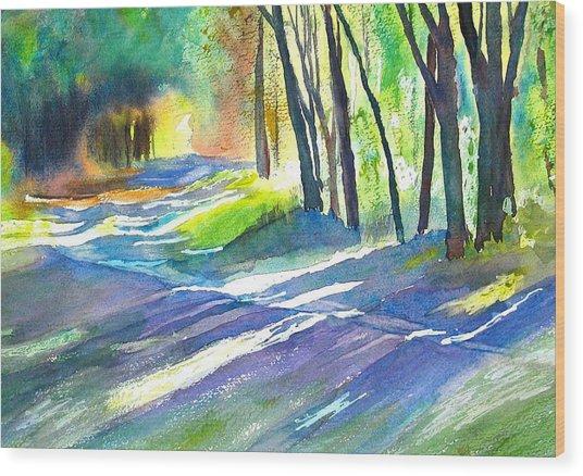 Bobs Road Wood Print