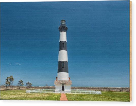 Bodie Island Lighthouse Wood Print