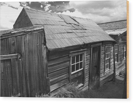 Bodie Row House Wood Print