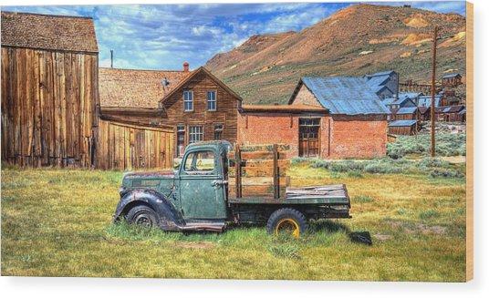 Bodie Truck Wood Print