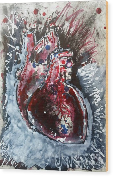Body - Expose Your Heart Wood Print