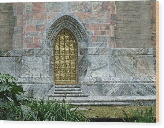 Bok Tower Entrance Wood Print