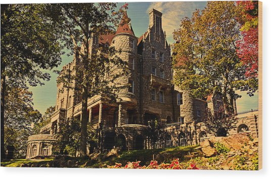 Boldt Castle 001 Wood Print