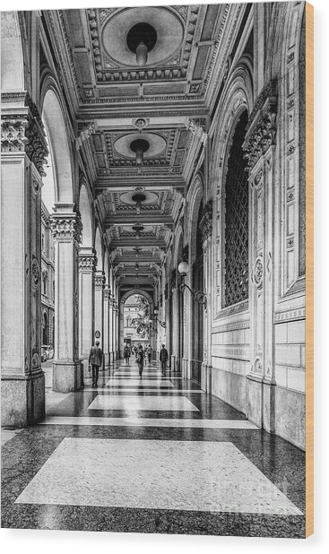 Bologna Wood Print