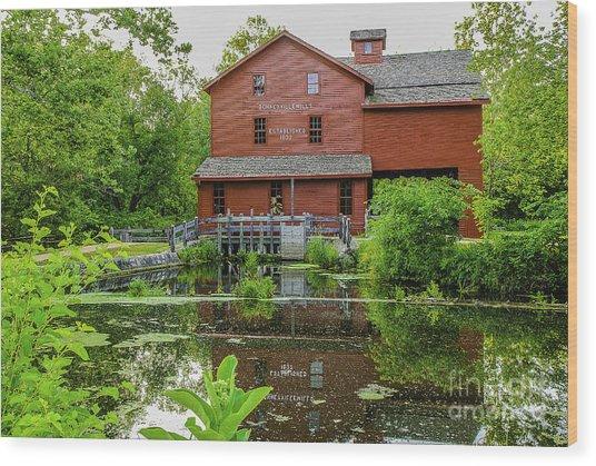 Bonneyville Mill Wood Print
