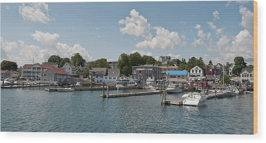Boothbay Harbor 1242 Wood Print