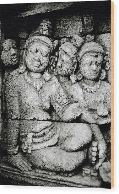Borobudur Harmony Wood Print