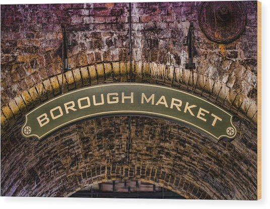 Borough Archway Wood Print