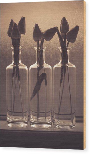 Bottled Love Full - North  Wood Print
