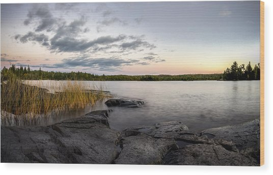 Boundary Waters // Bwca, Minnesota Wood Print