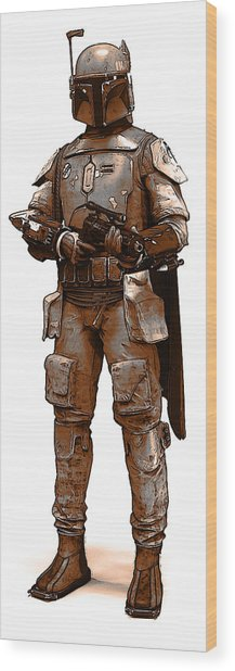Bounty Hunter Wood Print
