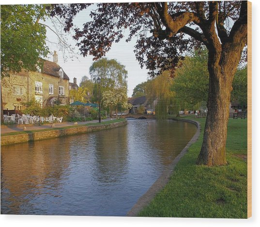 Bourton On The Water 3 Wood Print