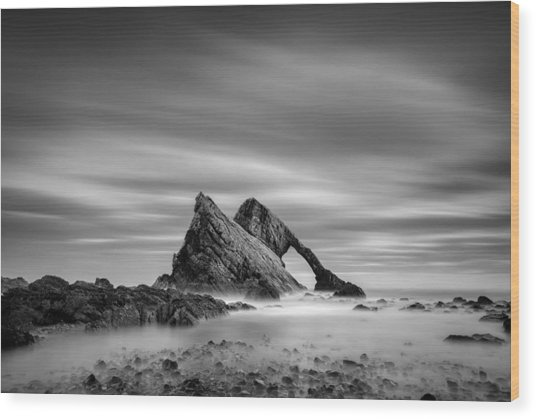 Bow Fiddle Rock 2 Wood Print