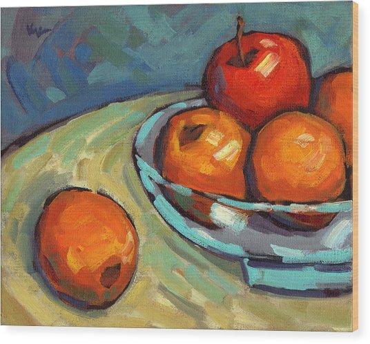 Bowl Of Fruit 2 Wood Print