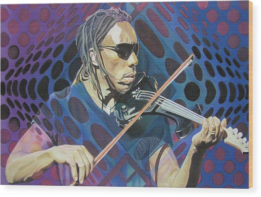 Boyd Tinsley Pop-op Series Wood Print