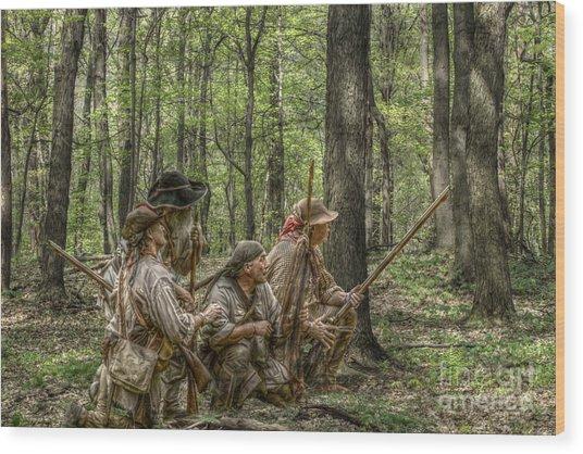 Brady's Rangers Wood Print