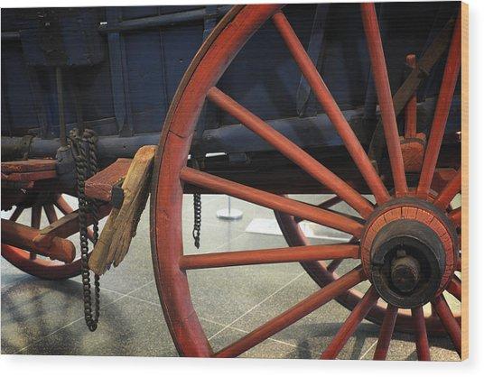 Brake Brake Wood Print