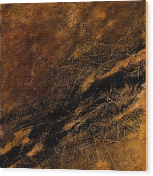 Bramble Wood Print