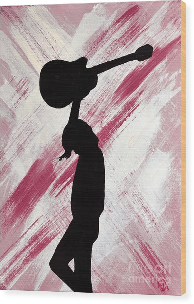 Brandi Carlile Hot Summer Night Wood Print